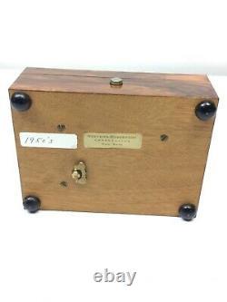 Reuge Music Box 2/36 Blue Danube Clair De Lune C. 19