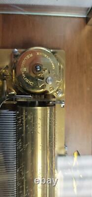 Reuge Music Box #37210 Abc 3/72 (sgp001963)