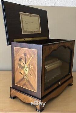 Reuge Music Box 3/72 Note Swiss Cylinder Jesus Joy Of Man's Desiring