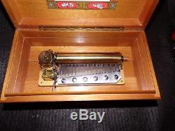 Reuge Music Box 3/72 SEE VIDEO