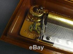 Reuge Music Box 72 Note Minuet March J. S. Bach Gigue G. F. Handel CH 3/72 37202