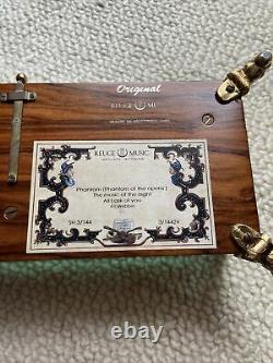 Reuge Music Box -Phantom Of The Opera- (144) Note Collectible. Antique