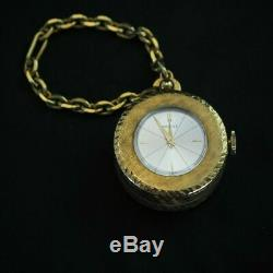 Reuge Music Box Pocket Watch Keychain