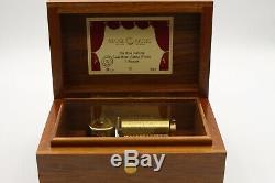 Reuge Music Box Spieluhr Auberson 36 Ls 2 Melodien von J. Strauss 36 notes