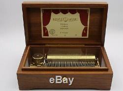 Reuge Music Box Spieluhr Auberson CH 3.72 3 Melodien von F. Chopin 72 notes