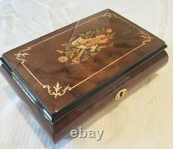 Reuge Music Box playing18 Note-All I ask of you Phantom of the opera