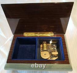 Reuge Music Box playing 18 Note All I ask of you Phantom of the Opera