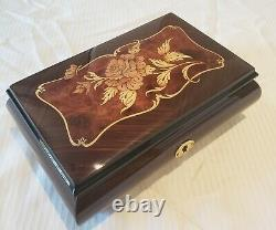 Reuge Music Box playing 18 note- Memory, Cats