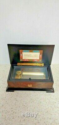 Reuge Music Box-switzerland-vintage (37211)-ch-3/72 144 Note 3 Melody