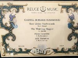 Reuge Music Cartel Sublime Harmonie 4.144 Music Box-Eine Kleine Nachtmusic/W. A