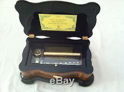 Reuge Music Classic Style Box With 72 Note MVT 3 Parts-P. Tchaikovsky