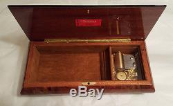Reuge Music Gorgeous 36 Note Musical Jewelry Box- All I Ask Of You, A. L. Webber