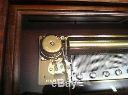 Reuge Music Gorgeous F. Sinatra 3.72 Note Music Box-Come Fly With Me, Strangers I