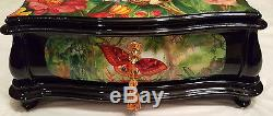 Reuge Music Hand Painted And Made In Italy Music Box, 3.72-Four Season-Vivaldi