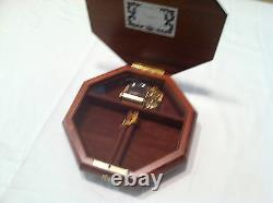 Reuge Music Large Musical Jewelry Box With 36 Note MVT-Unchained MelodyA. North