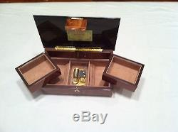 Reuge Music Musical Jewelry Box With 30 Note-18th Variations-S. Rachmaninoff