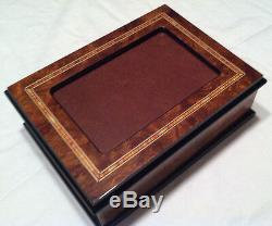 Reuge Music Picture Frame Music Box With 18 NT MVT-As Time Goes By