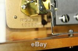 Reuge Music Switzerland Jewelry Box 15x12x5 Reuge Serial Number 10256 Beautiful