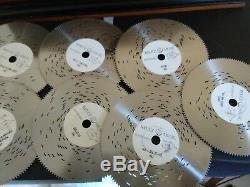 Reuge Music Treasure Chest 9 Discs Movement Music Box. Free S/H