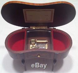 Reuge Music Vintage Music Box With Reuge 36 Note Tune-Canon Pachelbell
