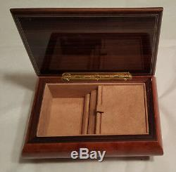 Reuge Musical Jewelry Box With 18 NOTE MVT-Memory