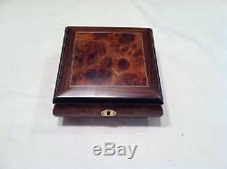 Reuge Musical Jewelry Box With 18 NT Reuge Movement