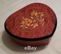 Reuge Musical Jewelry Box With 18 Note MVT-(Choose Tune In Item Detail)