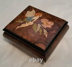 Reuge Musical Jewelry Box With 18 Note MVT-Silent Night- See Details for Tune