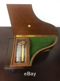 Reuge Piano Music Box 72 Notes