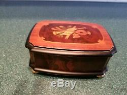 Reuge Romance Music Box Inlaid wood 36 note Gorgeous