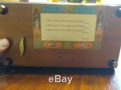 Reuge Sainte Croix 72 Tone Music Box CH3/72