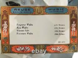 Reuge Sainte Croix Jewelry Music Box Swiss CH 4/50