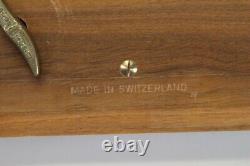 Reuge Sainte Croix Music Box Plays Allegro Minuet Mozart & Boccherini 2/50 25007