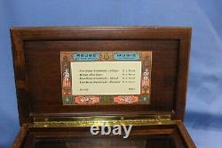 Reuge Sainte Croix Music Box Switzerland 45003