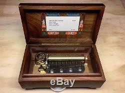 Reuge Sainte Croix Music Box Switzerland CH 4/50