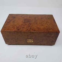 Reuge Sainte Croix Music Box Switzerland Tested But Key Doesn't Turn