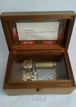 Reuge Sainte Croix Swiss Music Box, Edelweiss & Lara's Theme (Dr. Zhivago)
