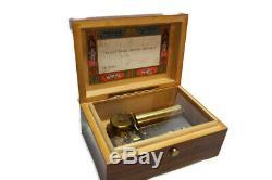 Reuge Sainte Croix Swiss Music Box, Lara's Theme, CH 2/50 Dr. Zhivago