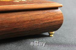 Reuge Sainte Croix Switzerland Spieluhr Music Box Verdi Aida Rigoletto Holz