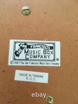 Reuge Sante-Croix Swiss 36 Note Music Box ROMANCE San Francisco Music Box Co