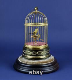 Reuge Singing Bird Automaton Music Box 1962