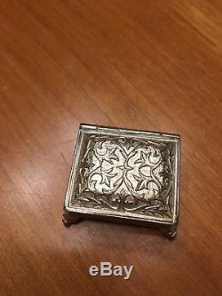 Reuge Smallest Music Box In The World Sterling Silver Vivaldi'Spring