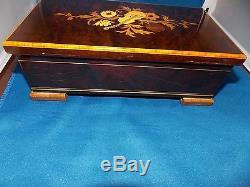 Reuge St. Croix Music Box 3/72 Hungarian Rhapsody F. Liszt (3 Parts) 37210