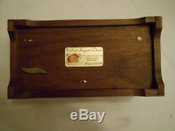 Reuge St. Croix Music Box CH 3/72 The Thieving Magpie G. Rossini (3 Parts)