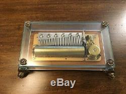 Reuge Swiss Music Box 37211. CH3/72