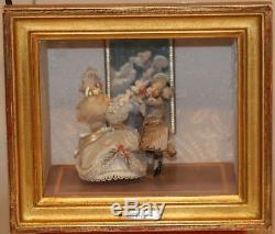 Reuge Switzerland Miroir Magique Danseurs 1782 Shadow Mirror Music Box 2/36