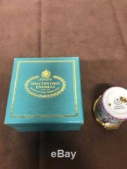 Reuge Tiffany Halcyon Days Enamel Miniature Music Box
