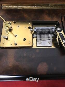 Reuge Treasure Chest Disc Type Music Box My Loss U Gain