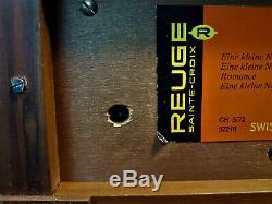 Reuge Vintage 3/72 Marquetry Music Box 37218 Mozart Eine Kleine NachtMusik Rare