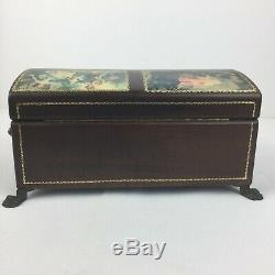 Reuge Vintage Music Jewelry Box 45003 CH 4/50 Made in Switzerland Plays 4 Songs